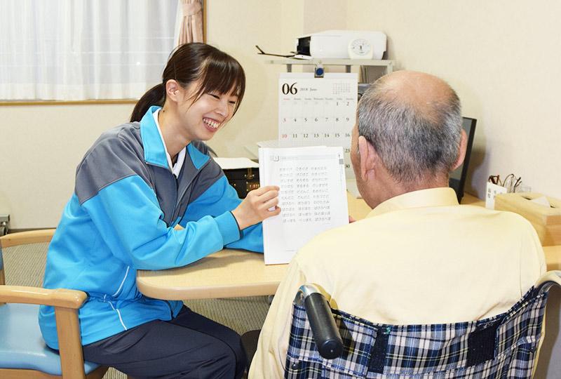 老人性認知症疾患の専門医療の様子